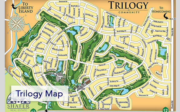 small trilogy map